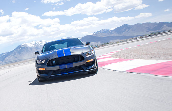 Shelby GT350® The legacy returns with adrenaline-pumping performance.